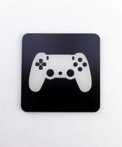 PlayStation 4 Controller Printed Acrylic Gaming Coaster