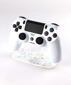 Paint Splatter PlayStation 4 Printed Acrylic Controller Display Stand