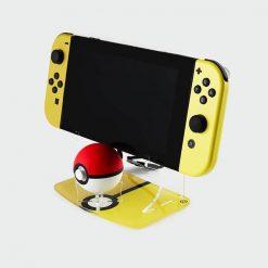 Pokemon Nintendo Switch and Pokeball