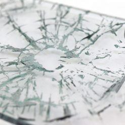 Shattered Glass Close Up