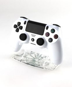 Shattered Glass PlayStation 4 Printed Acrylic Controller Display Stand