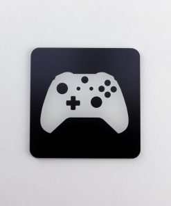 Xbox One Controller Printed Acrylic Gaming Coaster