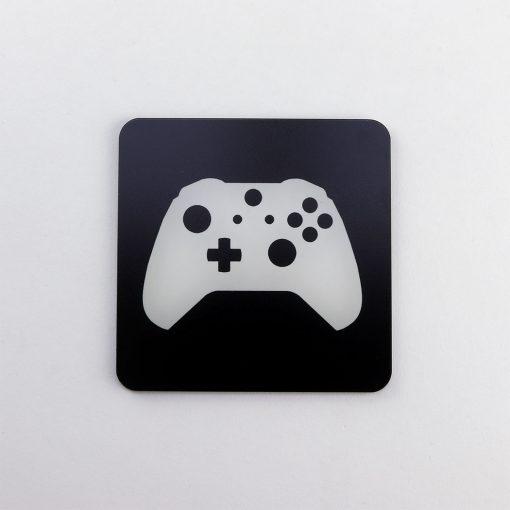 Xbox One Controller Printed Acrylic Gaming Coaster
