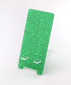 Circuit Board Printed Acrylic Mobile Phone Stand