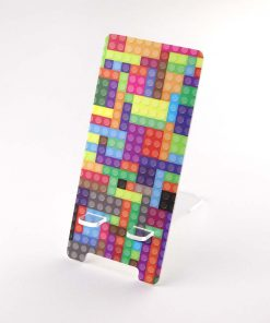 Lego Brick Design Printed Acrylic Mobile Phone Display Stand