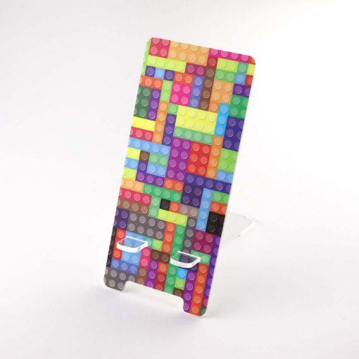 Lego Brick Design Printed Acrylic Mobile Phone Display Stand