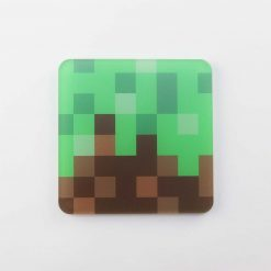 Minecraft Landscape Printed Acrylic Gaming Coaster