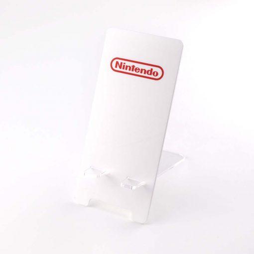 Nintendo Logo Printed Acrylic Mobile Phone Display Stand