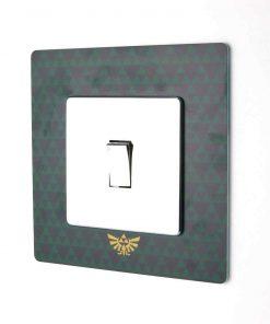 Legend of Zelda Printed Acrylic Light Switch Surround