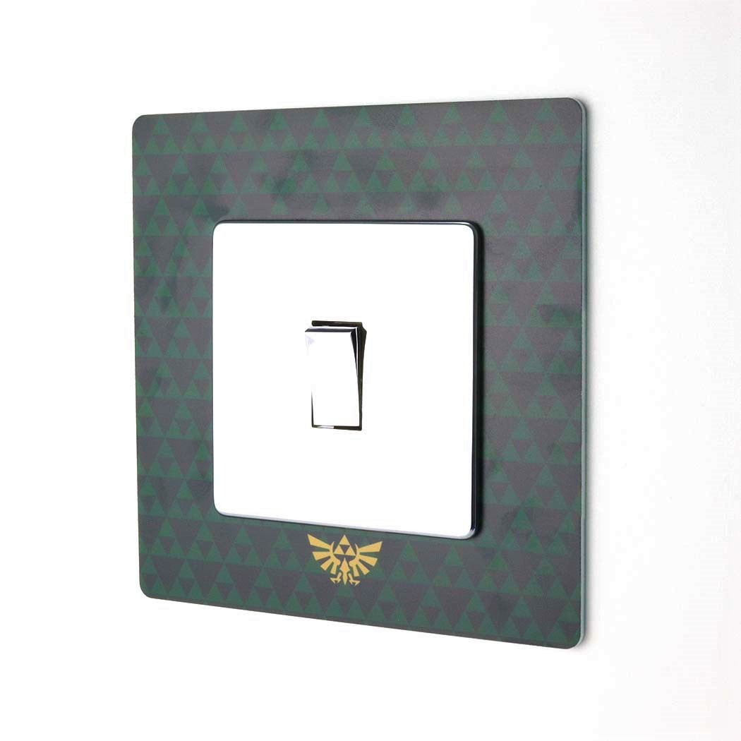 Legend of Zelda Printed Acrylic Light Switch Surround