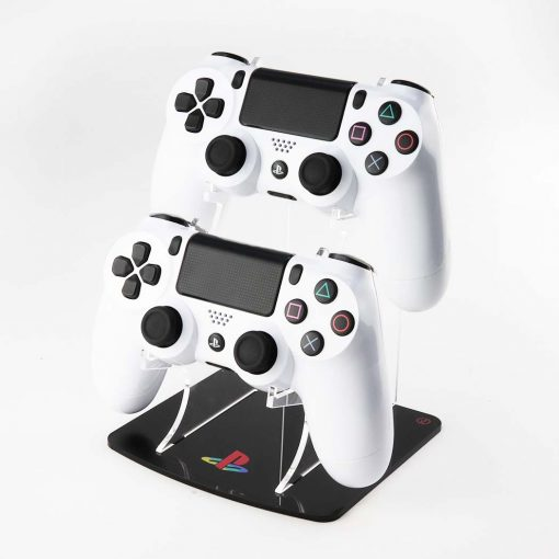 PlayStation 4 Logo Double Acrylic Controller Display Stand