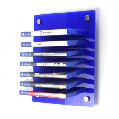 Acrylic PlayStation 4 Wall Mounted Game Display Rack