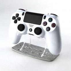 Grey Wood Effect PlayStation 4 Printed Acrylic Controller Display Stand