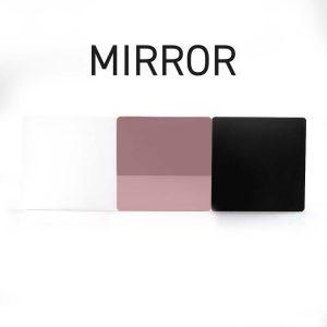 Rose Gold Mirror Acrylic Swatch