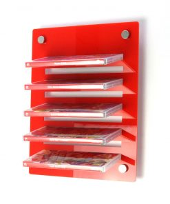 Acrylic Nintendo Switch Wall Mounted Game Display Rack