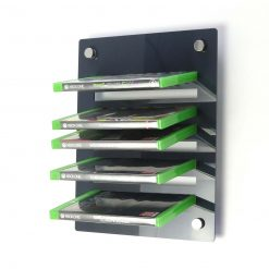 Acrylic Xbox One Wall Mounted Game Display Rack