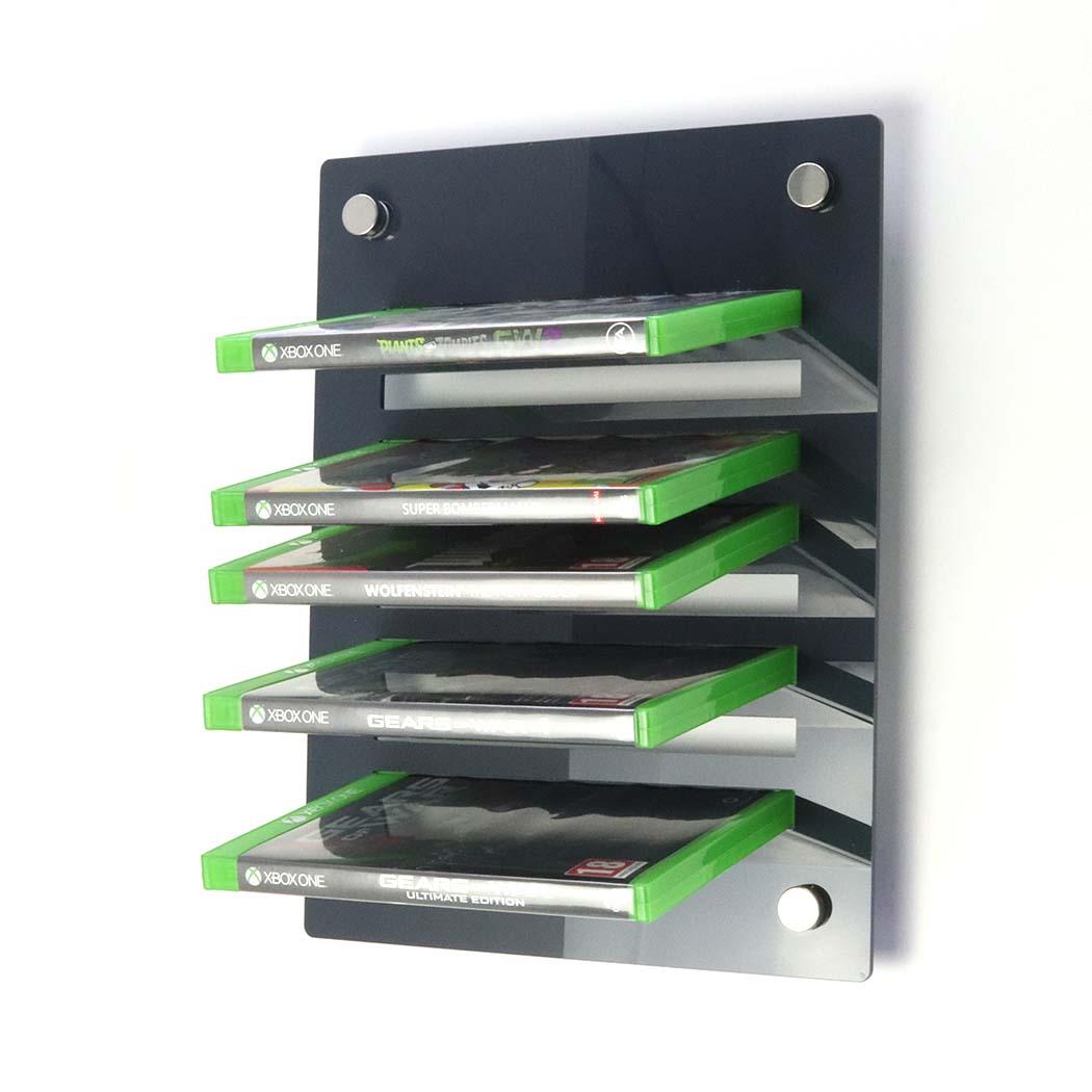 Acrylic Xbox One Wall Mounted Game Display Rack