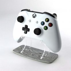 Grey Wood Effect Xbox One Printed Acrylic Controller Display Stand