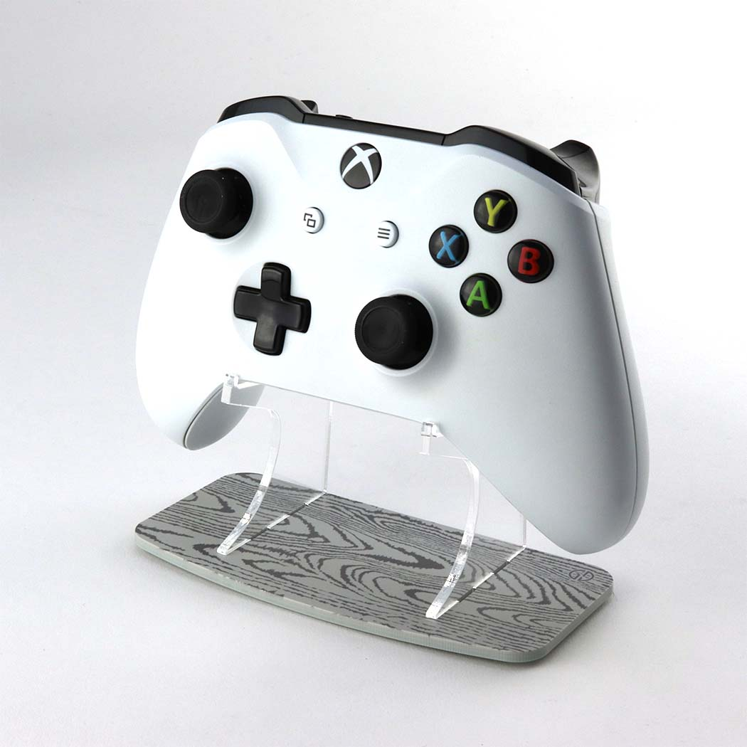 Grey Wood Effect Xbox One Controller Stand
