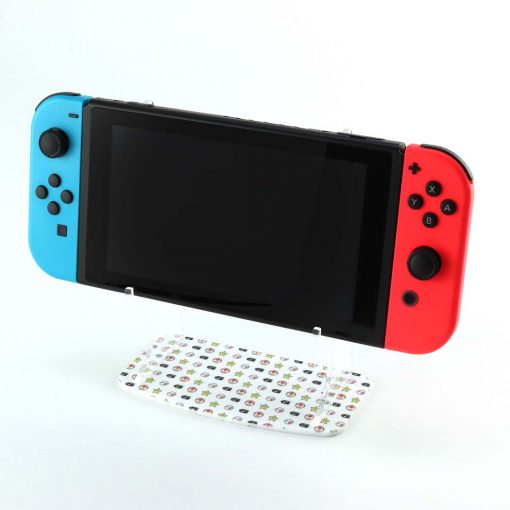 Super Mario Nintendo Switch Printed Acrylic Console Display Stand