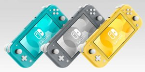 Switch Lite Colours