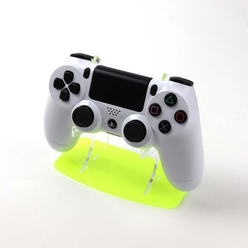 Fiesta Yellow Neon Highlights PlayStation 4 Acrylic Controller Display Stand