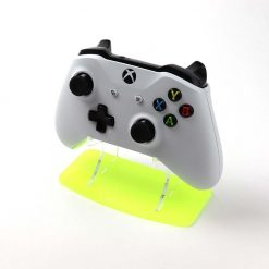 Fiesta Yellow Neon Hightlights Xbox One Acrylic Controller Display Stand