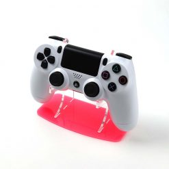 Flamenco Pink Neon Highlights PlayStation 4 Stand