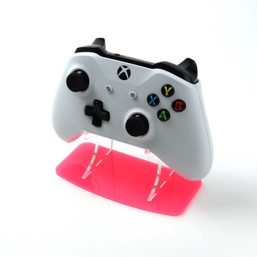 Flamenco Pink Neon Highlights Xbox One Stand