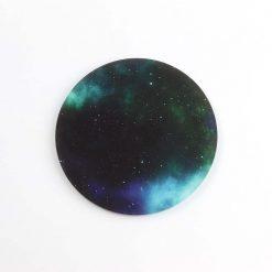Printed Acrylic Galaxy Coaster