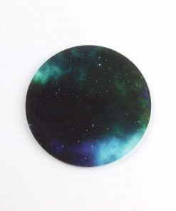 Printed Acrylic Galaxy Coaster