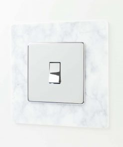 Marble Effect Light Switch Surround