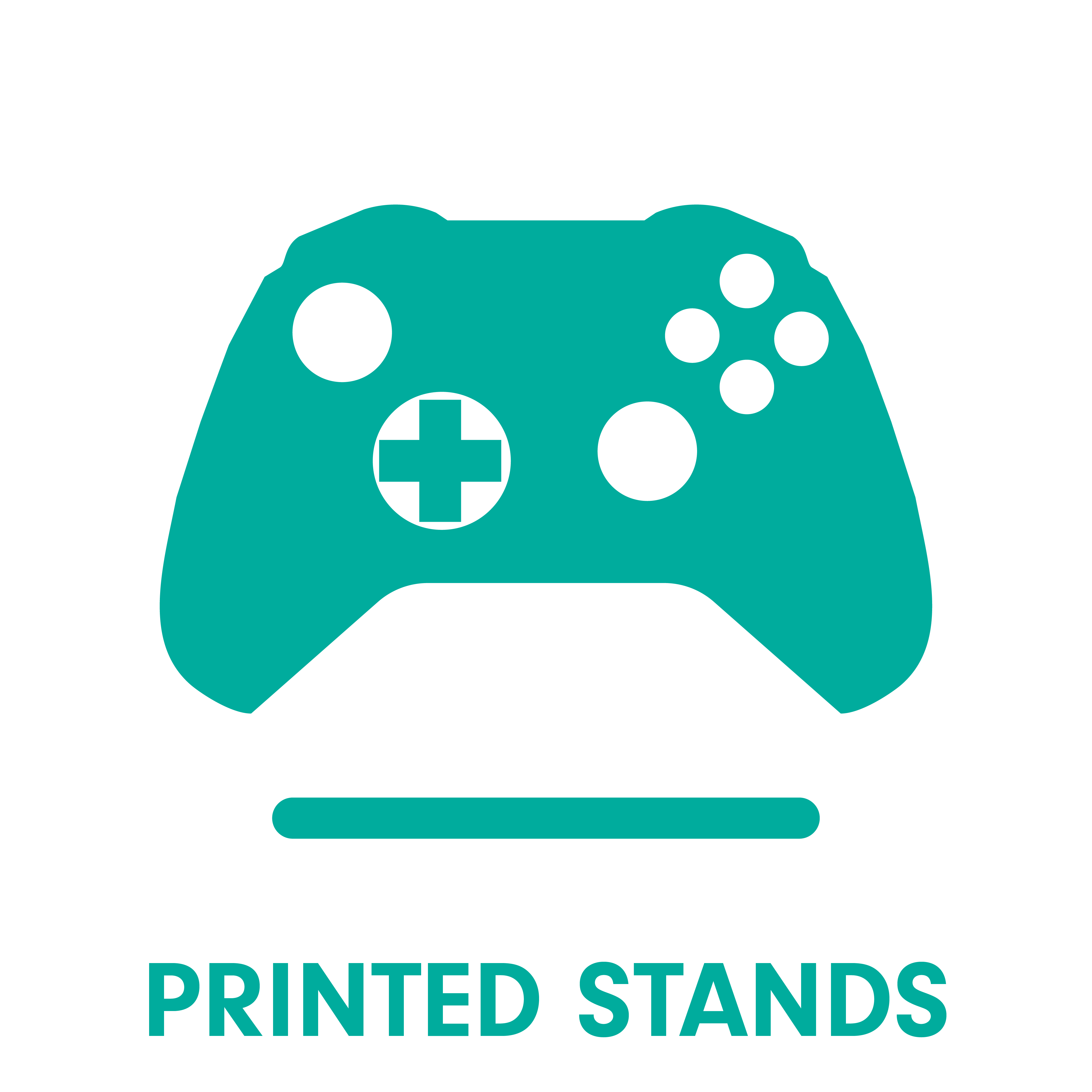 Gaming Displays Controller Stands For Xbox One Ps4