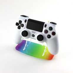 Rainbow PlayStation 4 Printed Acrylic Controller Display Stand