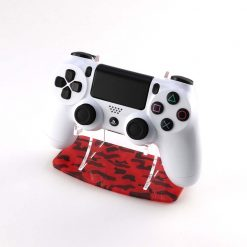 Red Camouflage PlayStation 4 Printed Acrylic Controller Display Stand