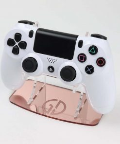 Rose Gold Mirror Acrylic Controller Stand