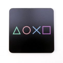 PlayStation Symbols Gaming Coaster