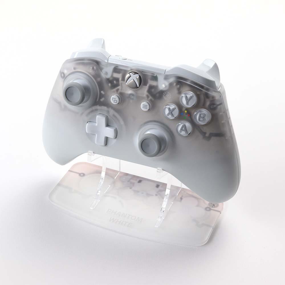 Phantom White Xbox One Printed Acrylic Controller Display Stand