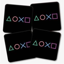 PS Symbols Coasters