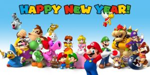 Mario New Year