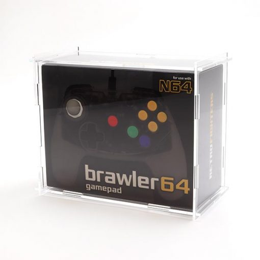 Brawler 64 Boxed Controller Display Case