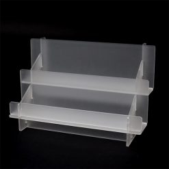 2 Tier Frosted Display Rack