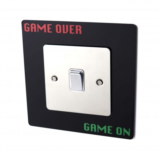 Game Over Game On Light Switch Surround