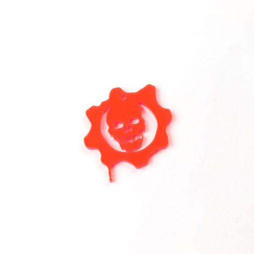 Gears of War Logo Acrylic Charm