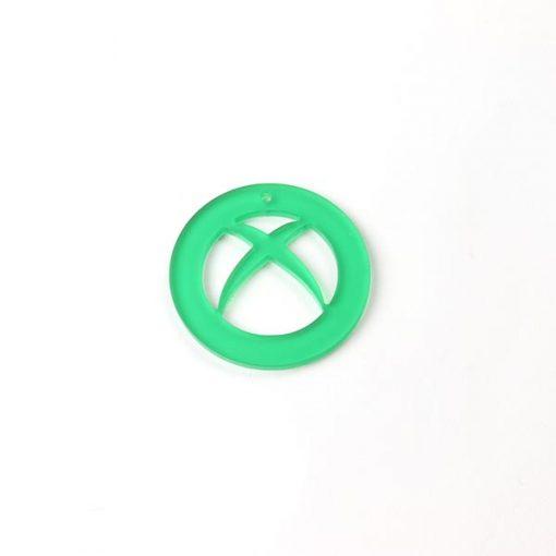 Xbox Logo Acrylic Charm
