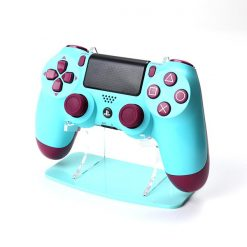 Berry Blue Colour Matched Acrylic PlayStation 4 Controller Display Stand