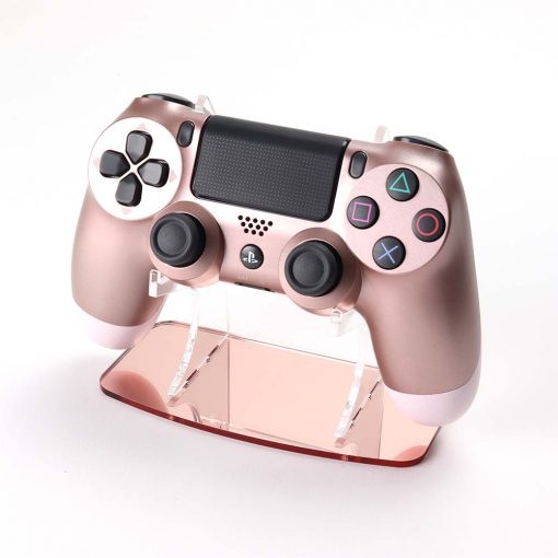 Rose Gold Colour Matched Acrylic PlayStation 4 Dualshock Controller Display Stand