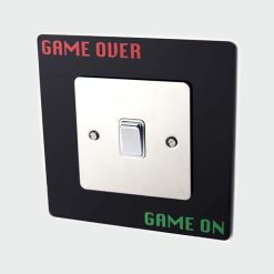 Game Over Game On Socket Surround