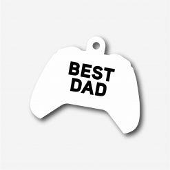 Best Dad Xbox One Key Ring