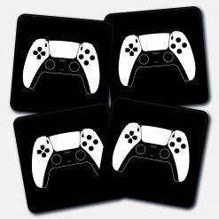 PlayStation 5 Controller Printed Acrylic Gaming Coaster